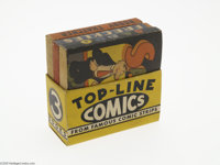 Top-Line Comics Boxed Set (Whitman, 1935) Condition: VF/NM. Box set featuring three comics: Sappo, Freckles, and Bobby T...