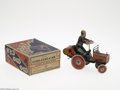 Memorabilia:Miscellaneous, Coo Coo Car with Box (Marx, circa 1920s). From the 1920s through the 1950s, the Louis Marx Toy Company produced an innovativ...