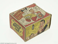 The Milton Berle Car with Box (Marx, 1950s). Join Uncle Miltie as he brings you hours of fun with this Marx tin lithogra...