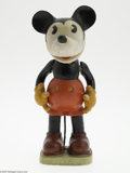 Memorabilia:Miscellaneous, Large Mickey Mouse Bisque Figurine (Walt E. Disney, c. 1934-36). The largest Mickey Mouse bisque figurine produced, standing...