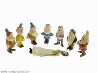 Snow White Seiberling Latex Statuettes with Box (Seiberling Latex, circa 1937). A number of different factors were respo...