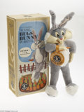 Memorabilia:Comic-Related, Talking Bugs Bunny with Box (Mattel, 1960s). During the early 1960s, Mattel produced a small line of plush talking figures. ...