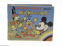 Mickey Mouse Presents Bucky and Bo' - British (Dean & Son, undated) Condition: FN. While American collectors are kee...