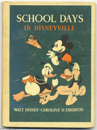 School Days in Disneyville (D. C. Heath & Company, 1939). Before there was Disneyland, there apparently was Disneyvi...