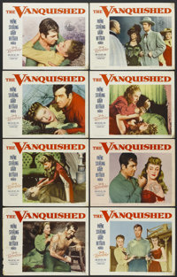 """The Vanquished (Paramount, 1953). Lobby Card Set of 8 (11"""" X 14""""). Western.... (Total: 8 Items)"""