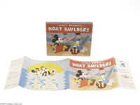 Walt Disney's Boat Builders (Grosset and Dunlap, 1936). Published by Grosset and Dunlap in 1936, this is one of their mo...