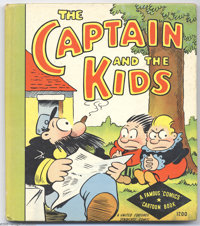 Captain and the Kids - Famous Comics Cartoon Book Series (Whitman, 1934). Although similar in format to a number of Cupp...