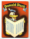 Memorabilia:Miscellaneous, Donald Duck Story Book (Whitman, 1937). Published by Whitman in 1937, copies of this inexpensively produced book are extreme...