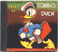 Memorabilia:Miscellaneous, Story of Donald Duck (Whitman, 1938) Condition: FN. Possibly the most popular volume in the entire small Whitman series, the...