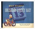 """Memorabilia:Miscellaneous, Donald's Lucky Day (Whitman, 1939) Condition: FN. Story and pictures from the Donald Duck production. Measures 11.5"""" x 9.5""""...."""