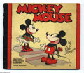 Memorabilia:Miscellaneous, Mickey Mouse (Whitman, 1934). One of the most attractive of the early Mickey Mouse volumes, this Whitman book from 1934 repr...