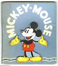 Memorabilia:Miscellaneous, Mickey Mouse A Stand-Out Book (Whitman, 1936). The rare, die-cut cover is the first thing you notice about this first editio...