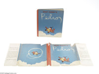 Walt Disney's Pedro with Dust Jacket (Grosset & Dunlap, 1943). The story of a little airplane, from the Walt Disney...