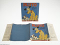 Memorabilia:Miscellaneous, Pluto and The Puppy with Dust Jacket (Grosset and Dunlap, 1937) Condition: VG. Boy, is this a nice one! A very difficult ear...