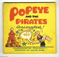Popeye and the Pirates Animated! (Duenewald Printing Corporation, 1945). Ahoy, Popeye fans! Feast your peepers on this m...