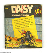 Daisy Handbook (Daisy Manufacturing Company, 1946) Condition: VG-. Distributed by the makers of Daisy Air Rifles in 1946...