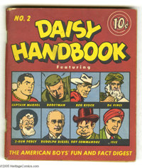 Daisy Handbook #2 (Daisy Manufacturing Co., 1948) Condition: VG+. Pocket-sized collection of several comic features, inc...