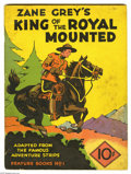 Platinum Age (1897-1937):Miscellaneous, Feature Books #1 King of the Royal Mounted (David McKay, 1937) Condition: VG+. Yet another wonderful segment of the varied L...