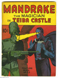 Golden Age (1938-1955):Adventure, Feature Books #23 Mandrake the Magician in Tieba Castle (David McKay, 1940) Condition: GD+. Solid spine and nice off white p...