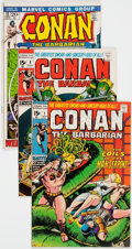 Bronze Age (1970-1979):Adventure, Conan the Barbarian #7, 8, and 13 Group (Marvel, 1971-72) Condition: Average NM-.... (Total: 3 Comic Books)