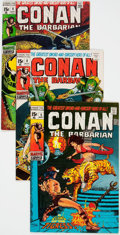 Bronze Age (1970-1979):Adventure, Conan the Barbarian Group of 10 (Marvel, 1971-73) Condition: Average FN/VF.... (Total: 10 Comic Books)