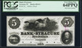Obsoletes By State:Indiana, Syracuse, IN- Bank of Syracuse $5 18__ G4 Wolka 790-3 Proof. ...