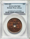 British West Africa:British Colony, British West Africa: British Colony. George VI Specimen Penny1952-KN 1952 SP67 Red PCGS,...
