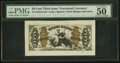 Fractional Currency:Third Issue, Fr. 1343SP 50¢ Third Issue Wide Margin Justice Face PMG About Uncirculated 50 EPQ.. ...