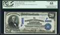 Error Notes:National Bank Note Errors, San Francisco, CA - $20 1902 Date Back Fr. 645 The Bank of California National Assoc Ch. # (P)9655. ...