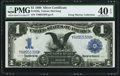 Large Size:Silver Certificates, Fr. 229a $1 1899 Silver Certificate PMG Extremely Fine 40 EPQ.. ...