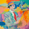 Fine Art - Work on Paper:Print, LeRoy Neiman (American, 1921-2012). Frank Sinatra, 1994.Serigraph in colors on wove paper. 29 x 29 inches (73.7 x 73.7 ...