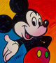 Peter Max (American, b. 1937) Disney Suite: Mickey Mouse (four works) Screenprint in colors on paper, each 15-3/4 x 1...