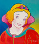 Peter Max (American, b. 1937) Snow White (Red) Screenprint in colors on paper 15-3/4 x 13-3/4 inches (40.0 x 34.9 cm)...