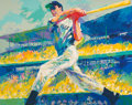 Fine Art - Work on Paper:Print, LeRoy Neiman (American, 1921-2012). Yankee Clipper, 1998.Serigraph in colors on paper. 30-3/4 x 38-1/2 inches (78.1 x 9...