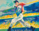 LeRoy Neiman (American, 1921-2012) Yankee Clipper, 1998 Serigraph in colors on paper 30-3/4 x 38-1/2 inches (78.1 x 9