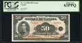 Canadian Currency, BC-14 $50 1935.. ...