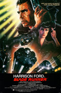 "Movie Posters:Science Fiction, Blade Runner (Warner Brothers, 1982). Autographed One Sheet (27"" X41"") with COA, John Alvin Artwork.. ..."