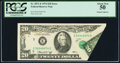 Error Notes:Foldovers, Fr. 2071-E $20 1974 Federal Reserve Note. PCGS About New 50.. ...