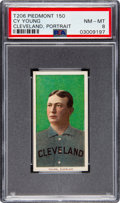 Baseball Cards:Singles (Pre-1930), 1909-11 T206 Piedmont 150 Cy Young (Portrait) PSA NM-MT 8 - Only Two Higher. ...