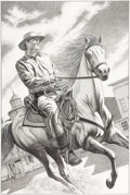 Original Comic Art:Splash Pages, David Michael Beck Jonah Hex #11 Splash Page 22 Original Art(DC, 2006)....