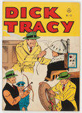 Golden Age (1938-1955):Crime, Four Color #133 Dick Tracy - Mile High Pedigree (Dell, 1947) Condition: FN-....