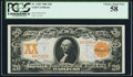 Large Size:Gold Certificates, Fr. 1183 $20 1906 Gold Certificate PCGS Choice About New 58.. ...