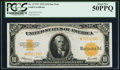 Large Size:Gold Certificates, Fr. 1173* $10 1922 Gold Certificate PCGS About New 50PPQ.. ...