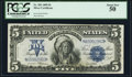 Fr. 281 $5 1899 Silver Certificate PCGS About New 50