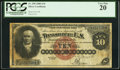 Large Size:Silver Certificates, Fr. 290 $10 1880 Silver Certificate PCGS Very Fine 20.. ...