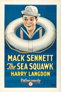 "Movie Posters:Comedy, The Sea Squawk (Pathé, 1925). One Sheet (27.25"" X 41"").. ..."