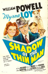 "Shadow of the Thin Man (MGM, 1941). One Sheet (27"" X 41"") Style D"