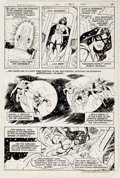 Original Comic Art:Panel Pages, Jim Aparo The Brave and the Bold #184 Story Page 4 OriginalArt (DC, 1982)....