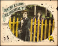 "Movie Posters:Comedy, Our Hospitality (Metro, 1923). Lobby Card (11"" X 1..."