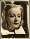 """Movie Posters:Drama, Greta Garbo in Queen Christina by Clarence Sinclair Bull (MGM,1933). Portrait Photo (9.75"""" X 12.75"""").. ..."""